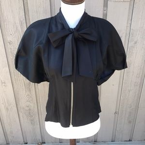 Marc by Marc Jacobs NWOT Bow Puff Sleeve Jacket